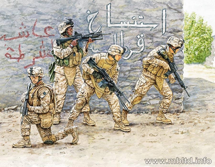 """""""Iraq"""", set 1. 1/35 MB3575"""