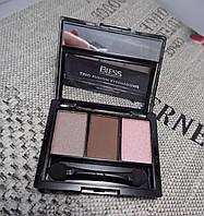 Тени для век BLESS Beauty Trio Fusion Eyeshadows 2 6d8f2042bcb1c