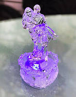 Светящаяся Статуэтка Влюбленные Подарок на День Святого Валентина 12 см