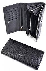 Женский кожаный кошелек 505905 Black