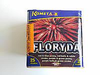 Фейерверк Салют FLORYDA Kometa 25 выстрелов (P7048)