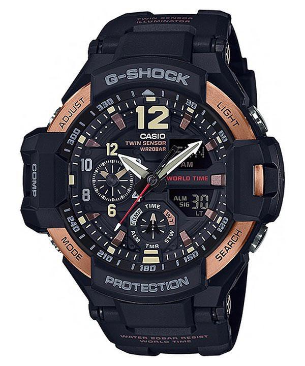 Часы Casio G-Shock GA1100RG-1A Gravity Master Б.