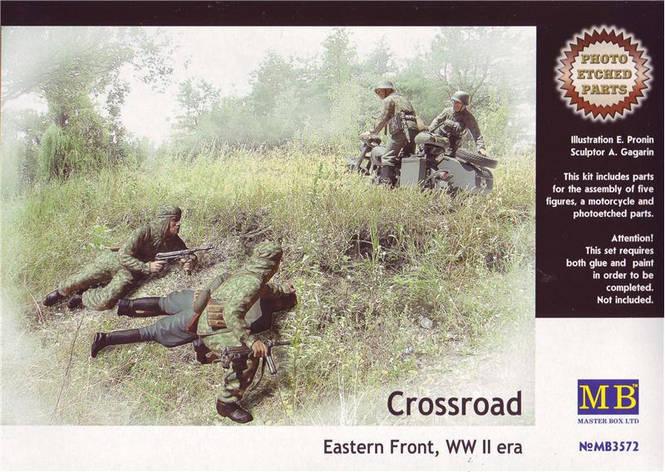 Crossroad Eastern Front, WW II era. 1/35 MB3572, фото 2