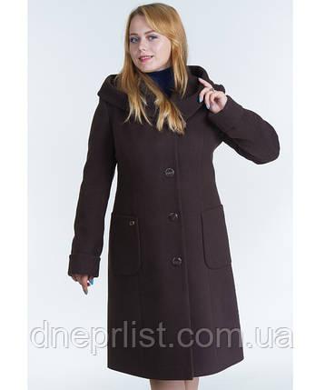Пальто зимнее женское № 24 (р.46-50), фото 2