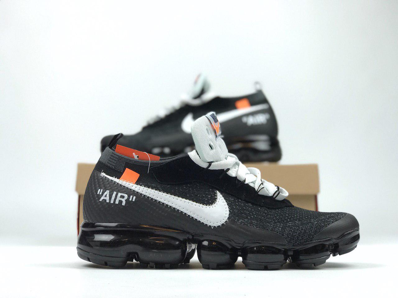Мужские кроссовки Nike Air Vapormax off White, Копия