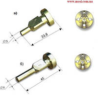 Мундштуки внутренние к резакам машинным РМ2, РМ3 №1П, (1М)