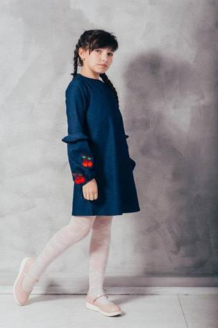 """Парный комплект платья """"Вишенка"""", фото 2"""