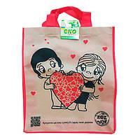 Эко-сумка любовь 345*415*120  ТМ303