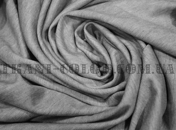 Французский трикотаж светло-серый меланж, фото 2