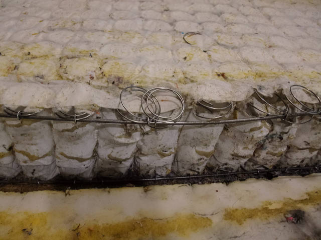 Пружинный блок ремонту не подлежит.