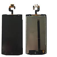 Oukitel K10000 дисплей с сенсорным экраном (модуль) черный