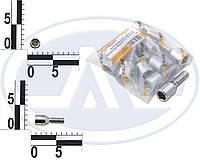 Болт 12х 28 колес хром конус внутрен. шестигрнник (ш 1.5) (10 шт) (пакет). Ф296 (Walline)