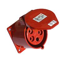 Розетка РС -325 3 полюса + PE+N 32А 400В IP44 / Розетка РС -325  3 полюси + PE+N  32А 400В  IP44  ElectrO
