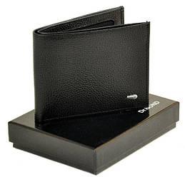 Мужское кожаное портмоне Classik DR. BOND MS-4 black