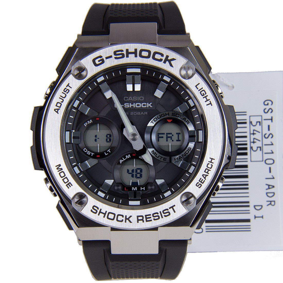 Часы Casio G-Shock G-Steel GST-S110-1A TOUGH SOLAR Б.