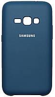 Чехол Soft Touch Samsung J3-2017 синий