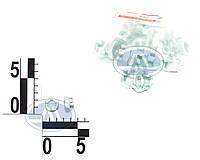 Гайка 12 рулевых тяг ВАЗ 2108-09 коронка (20 шт) (пакет). Ф3414078