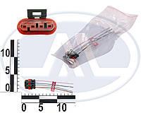 Колодка к датчику уровня топлива для ГАЗ, Волга, 2410, 3110 , с проводами. АХ-508 (CARGEN)