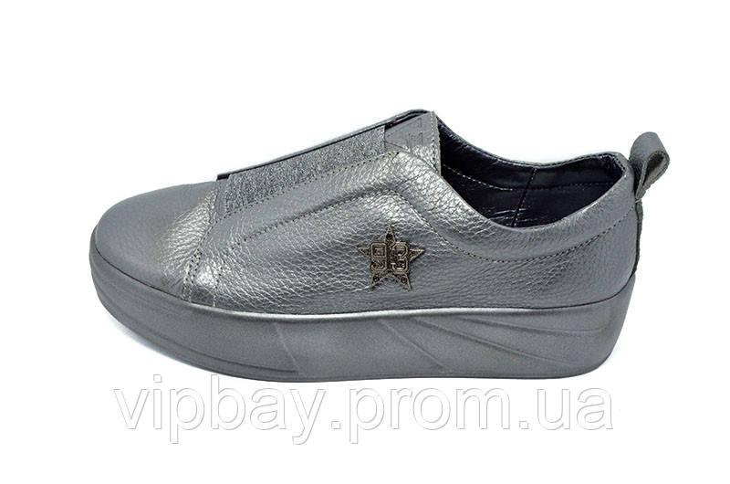 Слипоны женские Visazh 330 Gray