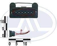 Колодка датчика массового расхода воздуха для ГАЗ , с проводами. АХ-504