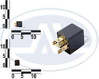 Реле 5-ти контактное 12v (30А, резистор). 752.3777.000