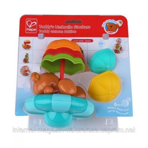 Игрушка для ванной комнаты - Teddy's Umbrella Stackers