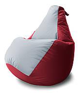 Огромное Кресло-мешок груша Комби. Оксфорд 100*140 см.