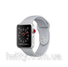 Watch Series 3 GPS + Cellular 42mm Silver Aluminum withFog Sport Band (MQK12), фото 3