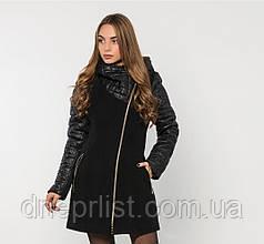 Пальто зимнее женское № 43 (р.50-60) 60, Черный