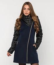 Пальто зимнее женское № 43 (р.50-60) 50, Синий