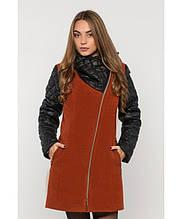Пальто зимнее женское № 43 (р.50-60) 50, Рыжий