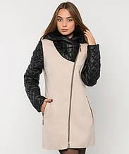 Пальто зимнее женское № 43 (р.50-60) 54, Бежевый