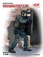 Боец группы S.W.A.T., набор №2. 1/24 ICM 24102