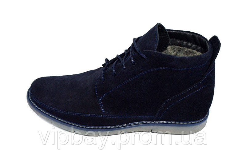 Туфли зимние на меху Van Kristi Limited TE 941 Blue