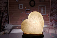 """Соляная лампа, ночник """"Сердце"""""""
