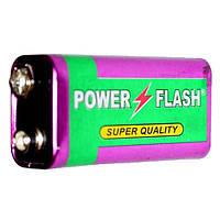 Батарейка Power Flash 6F22 (1шт)