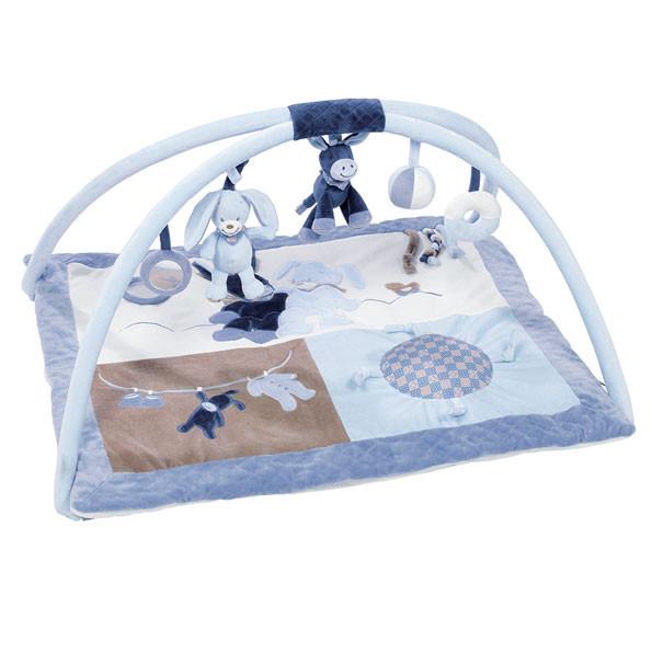 Nattou - Развивающий коврик с дугами Алекс и Биба