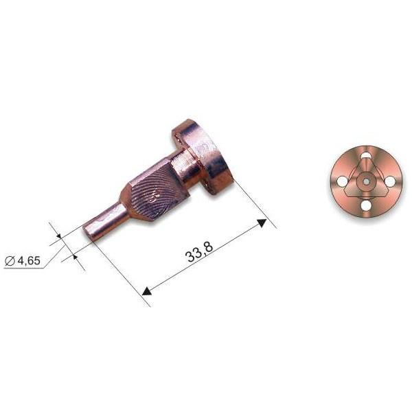 Мундштук внутренний к резакам РМ2, РМ3 №4А 50-100*