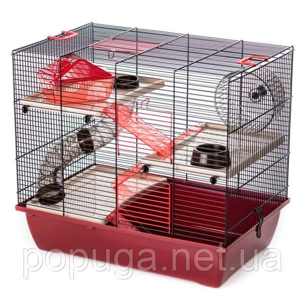 Клетка для грызунов, эмаль PINKY 3 InterZoo 50*33*44,5 см