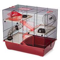 Клетка для грызунов, эмаль PINKY 3 InterZoo 50*33*44,5 см, фото 1
