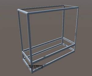 Торговое оборудование - прилавки | Конструктор из торговых профилей М-3