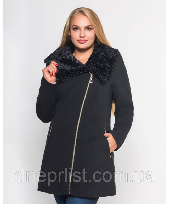 Пальто зимнее женское № 42 (р.50-60)