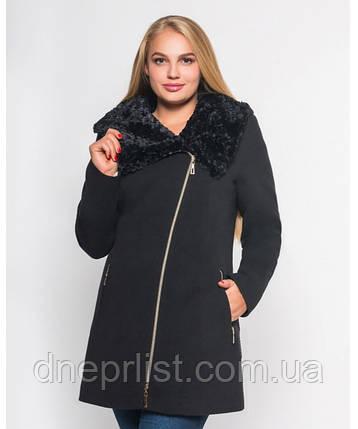 Пальто зимнее женское № 42 (р.50-60), фото 2