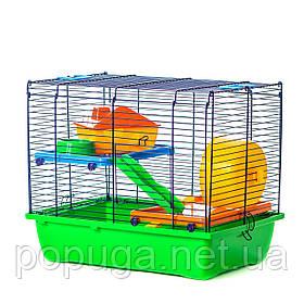 Клетка для грызунов, эмаль DUSTY InterZoo 42*29*35 см