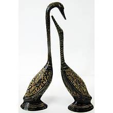 Фигурки лебеди декоративные