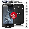 AGM a8 Защищенный смартфон с мощным аккумулятором 4050мАч 4/64GB!!!