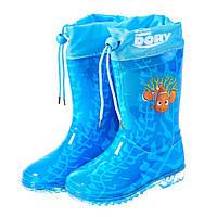 Детская обувь резиновые сапоги Finding Dory (В поисках Дори) на ребенка (размеры: 24-32) ТМ ARDITEX WD9828