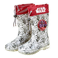 Детская обувь резиновые сапоги Star Wars (Звездные войны) на мальчиков (размеры: 24-34) ТМ ARDITEX SW9866