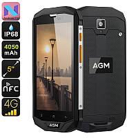 AGM a8 Защищенный смартфон  с люксовым дизайном и мощным аккумулятором 4050мАч 4/64GB!!!