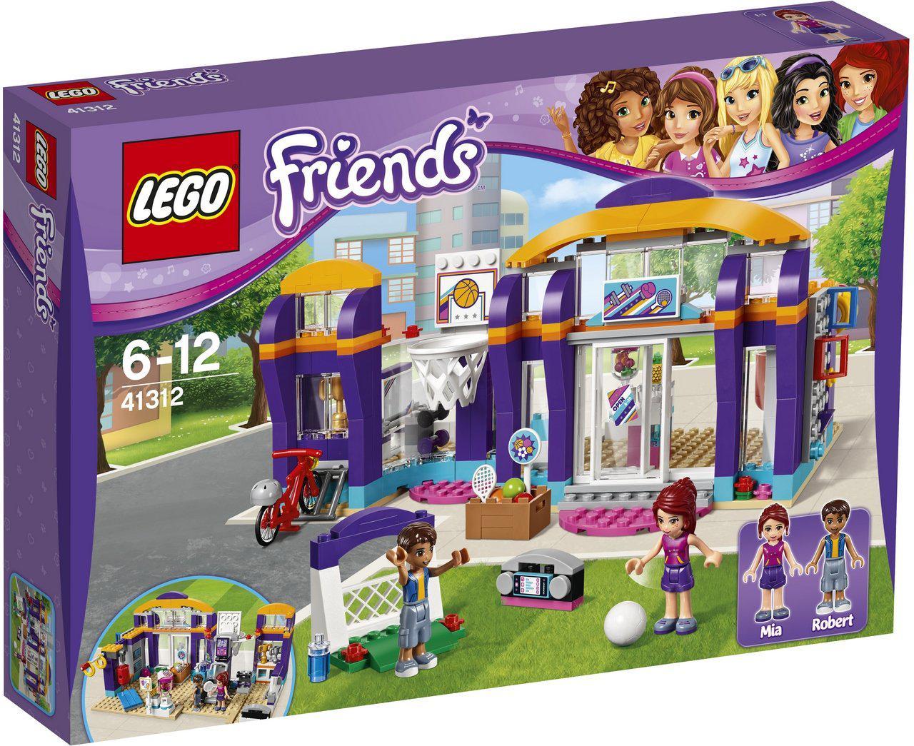 Конструктор 41312 LEGO Friends Спортивний центр.
